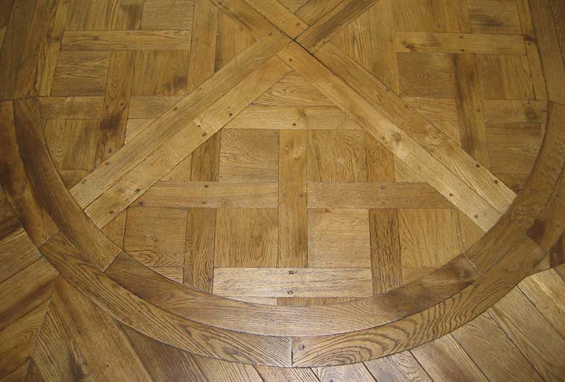 New French Oak Custom Parquet Panels