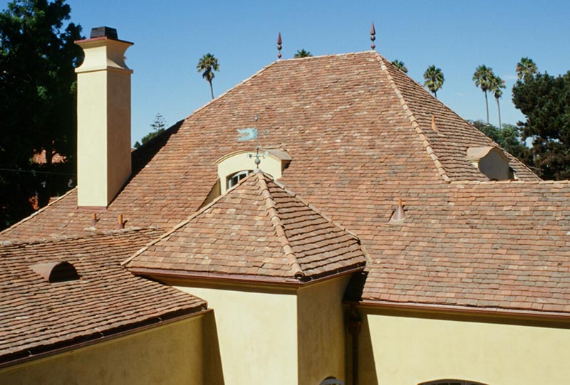 Antique Roof Tuile Plat
