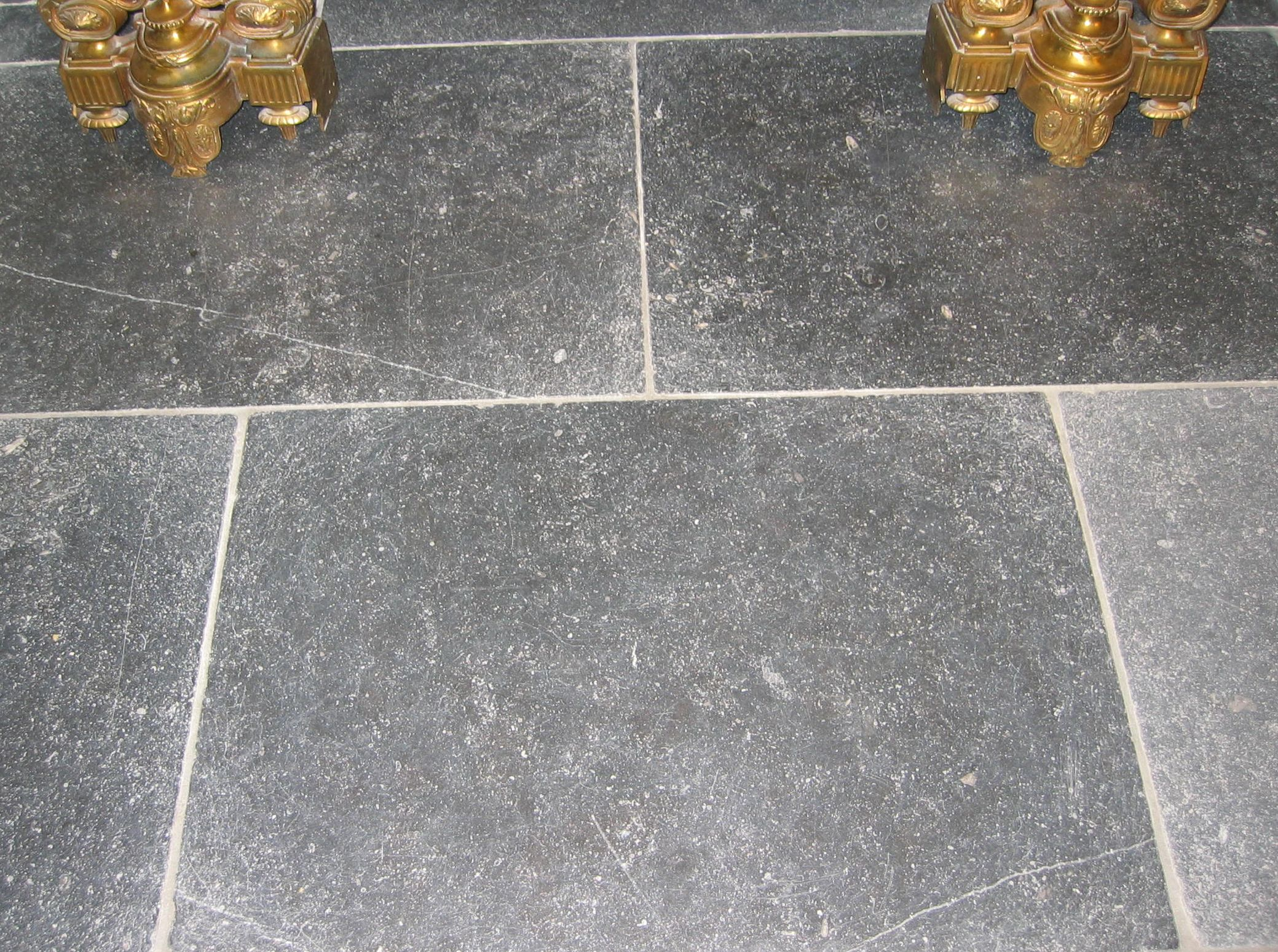 Belgian Blue Limestone, 18th Century Finish